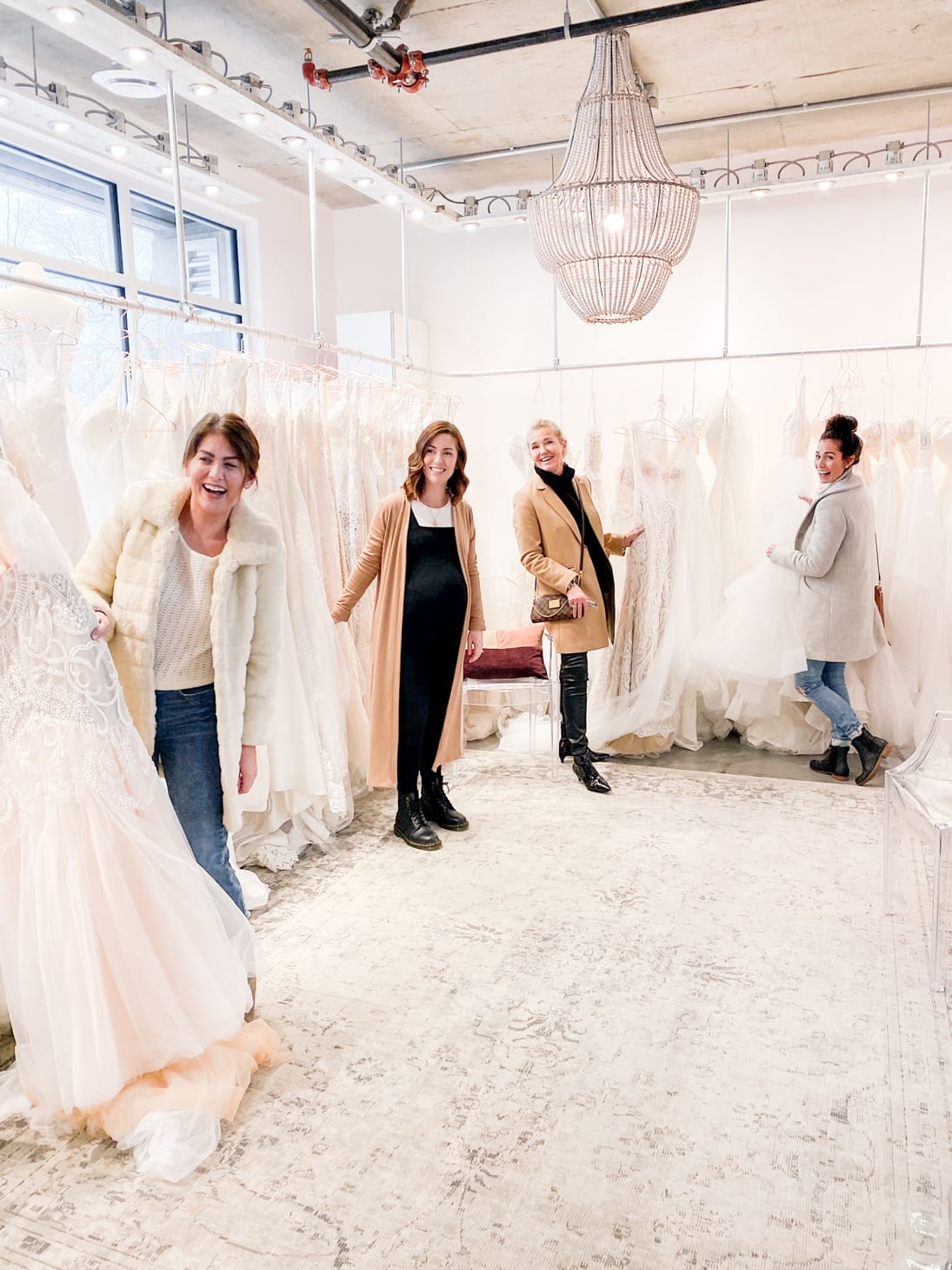 Wedding Dress Shopping Tribe