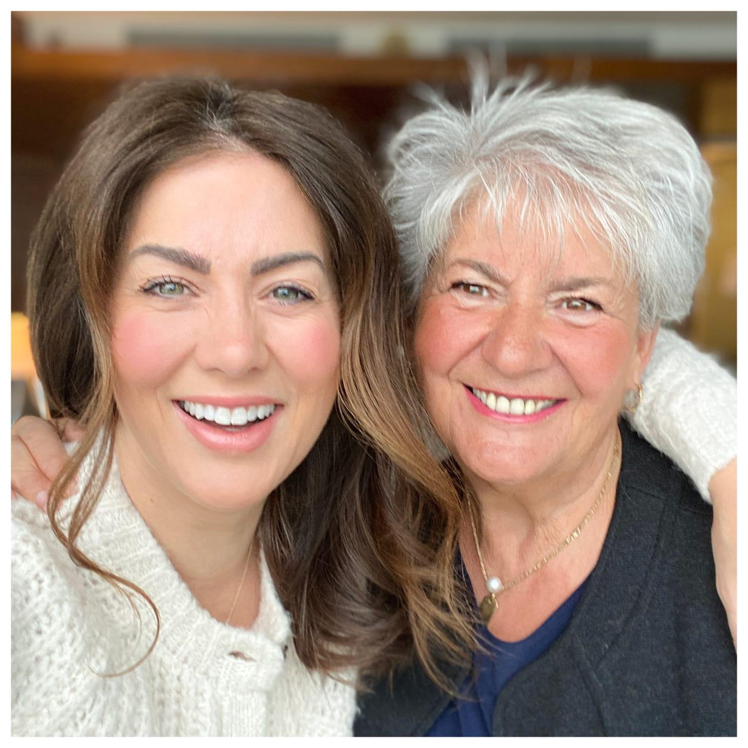 Jillian Harris and Peggy Harris