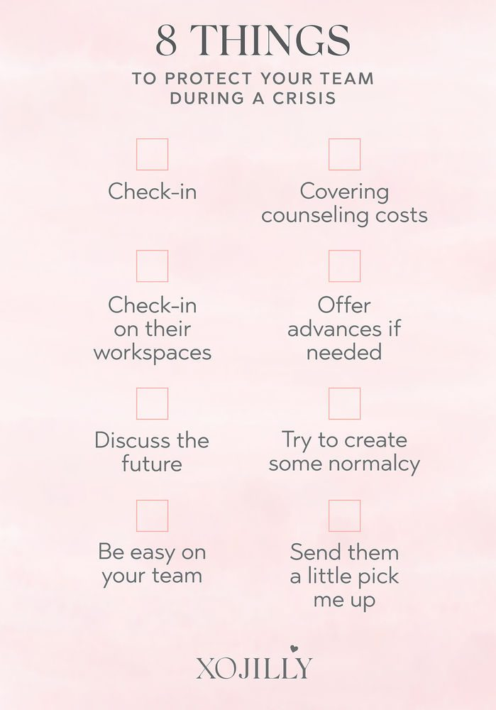 How to Support Your Team Checklist