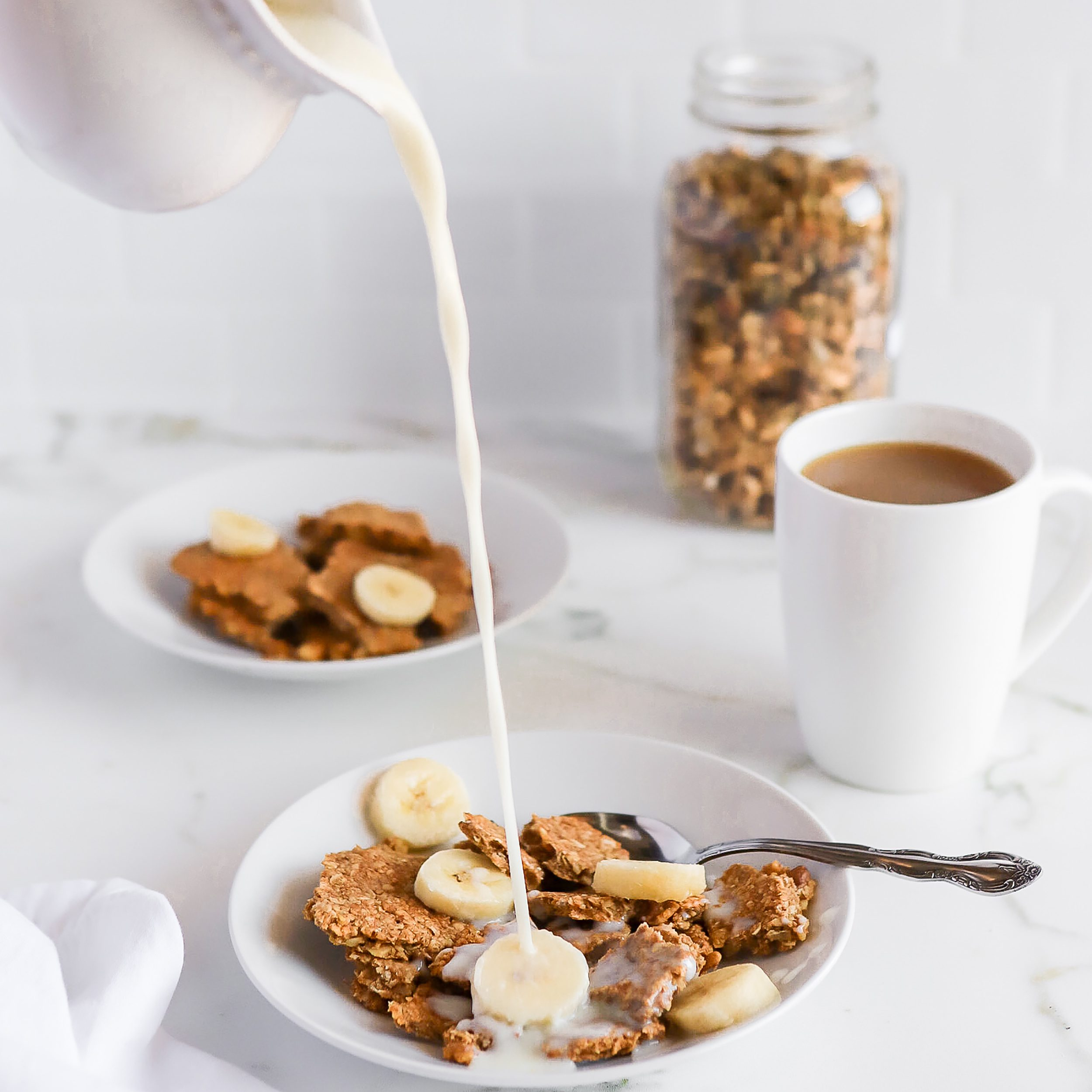 Vegan & Gluten-Free Banana Bread Granola