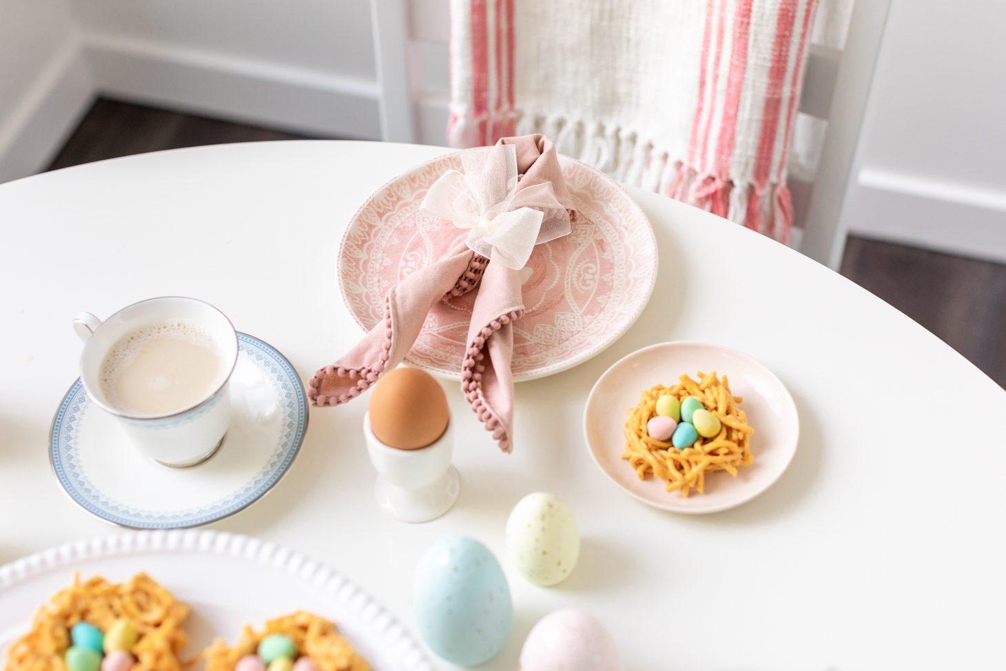 Easter Dinner Table Scape