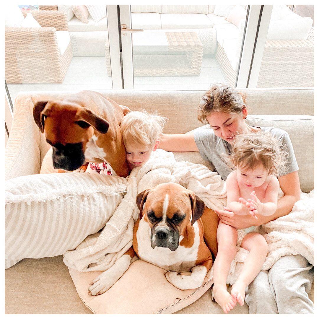 Jillian Harris and Kids