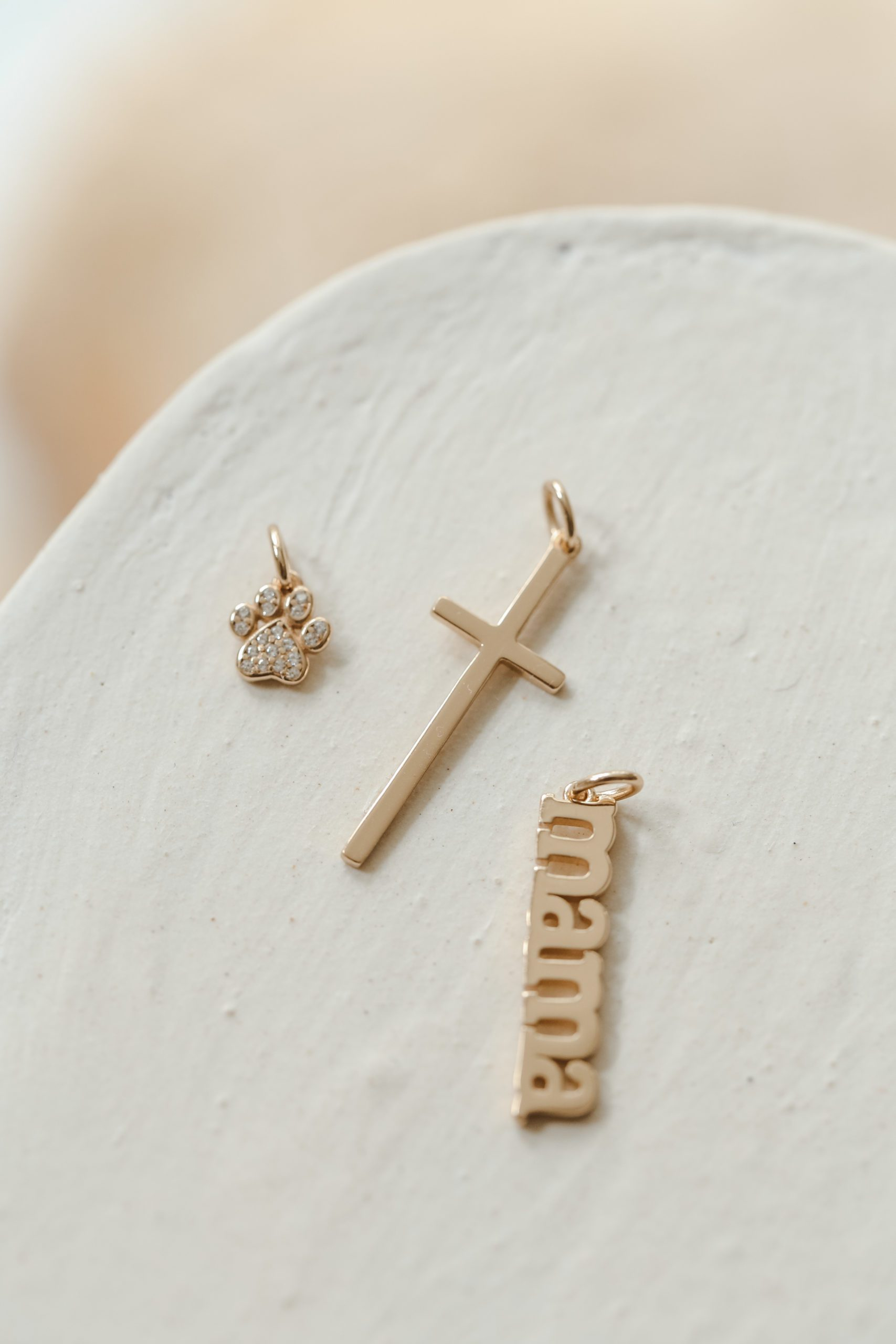 Sterling Silver Jewelry Pendants /& Charms Solid 13 mm 28 mm Vermeil Polished Cross Heart Pendant