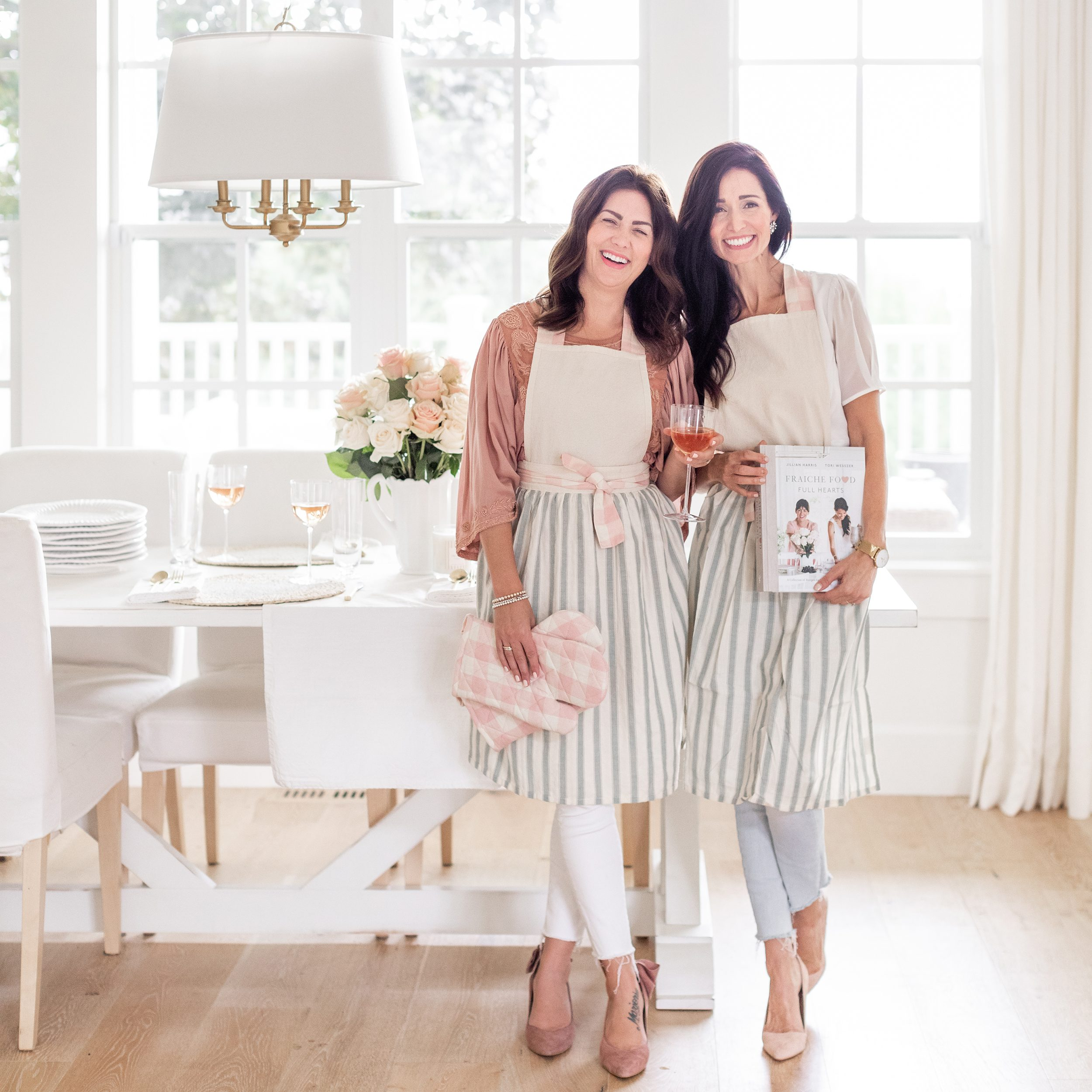 Jillian Harris and Tori Wesszer Cookbook Tour