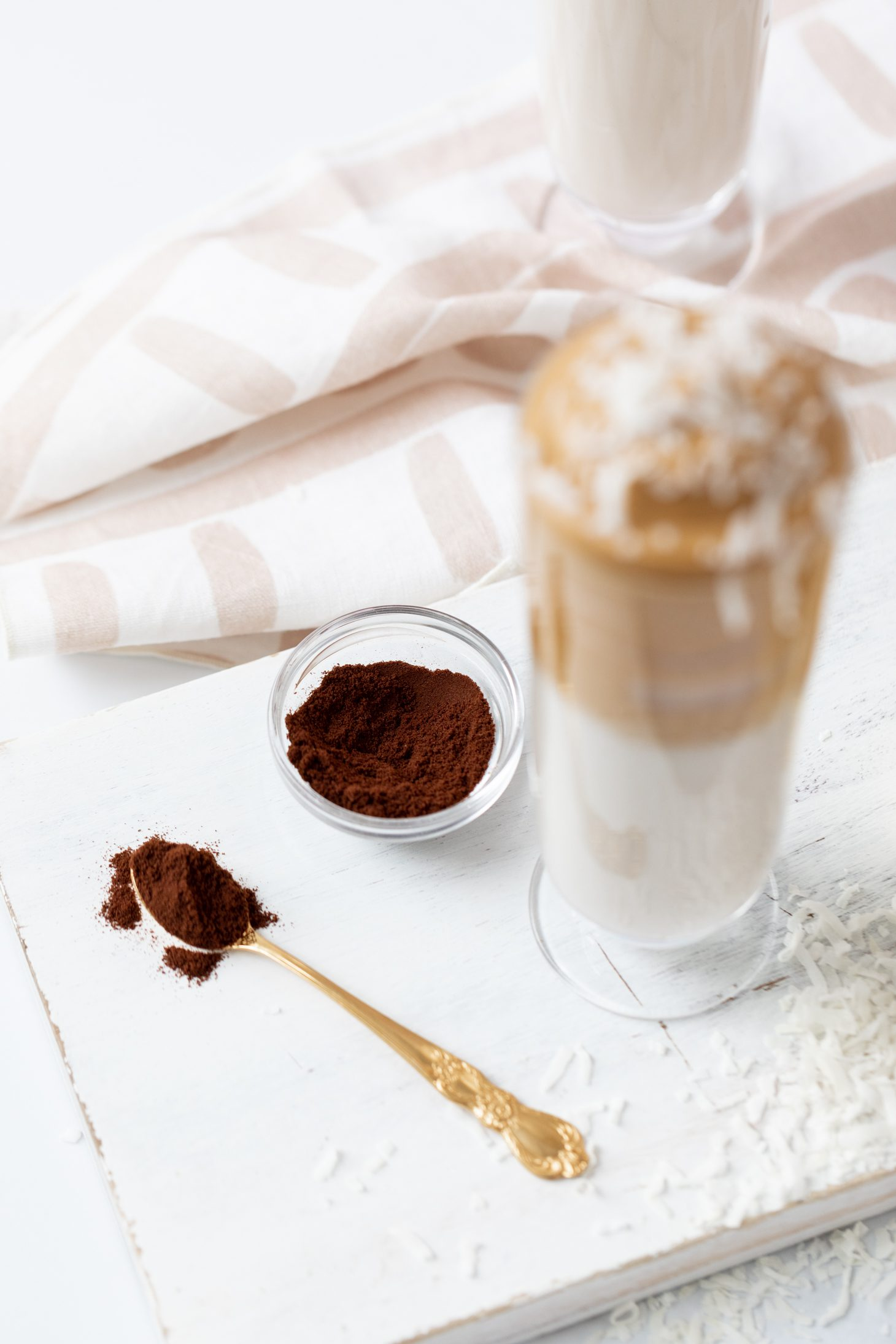 Banana Coconut Coffee Whip