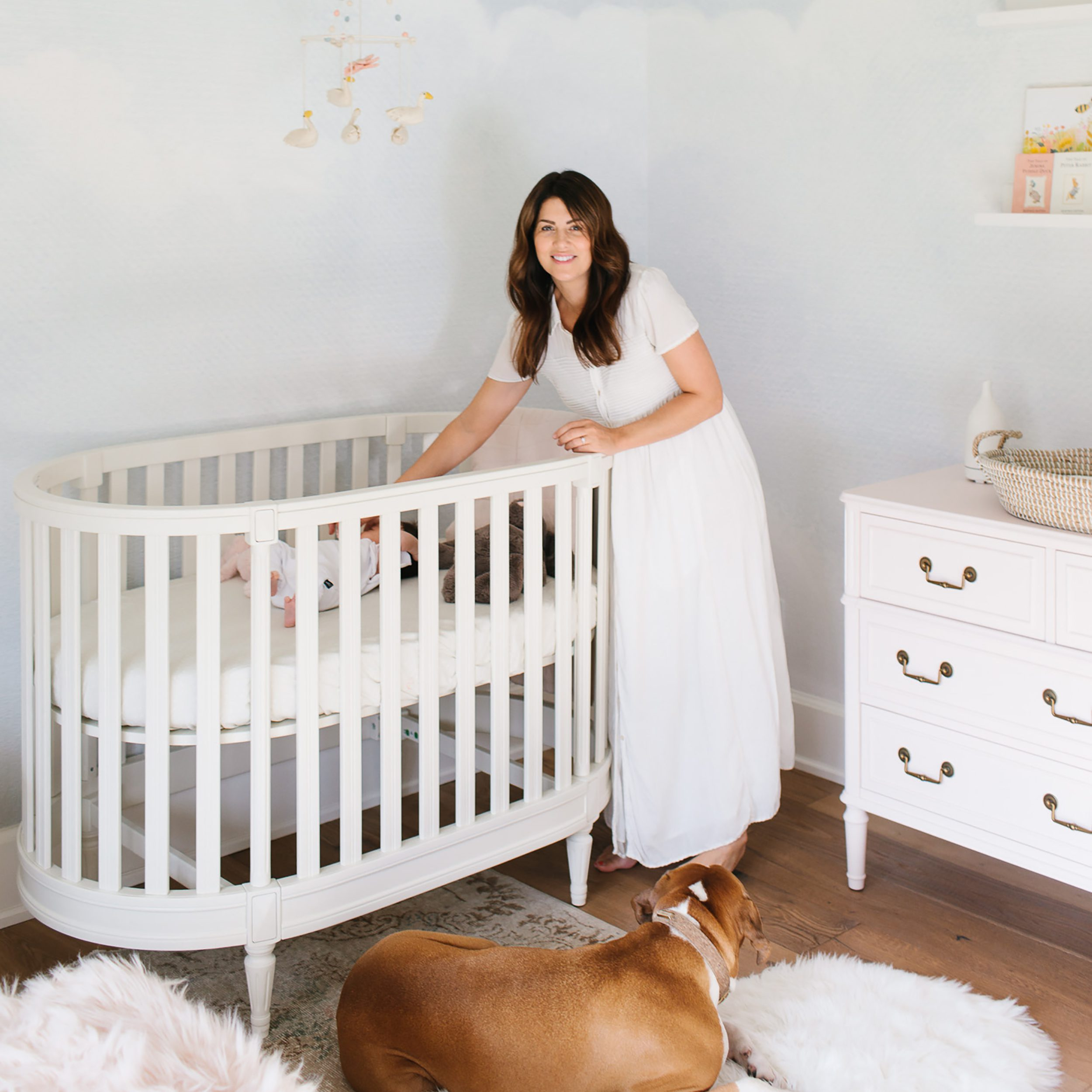 Jillian Harris Putting Annie to Sleep