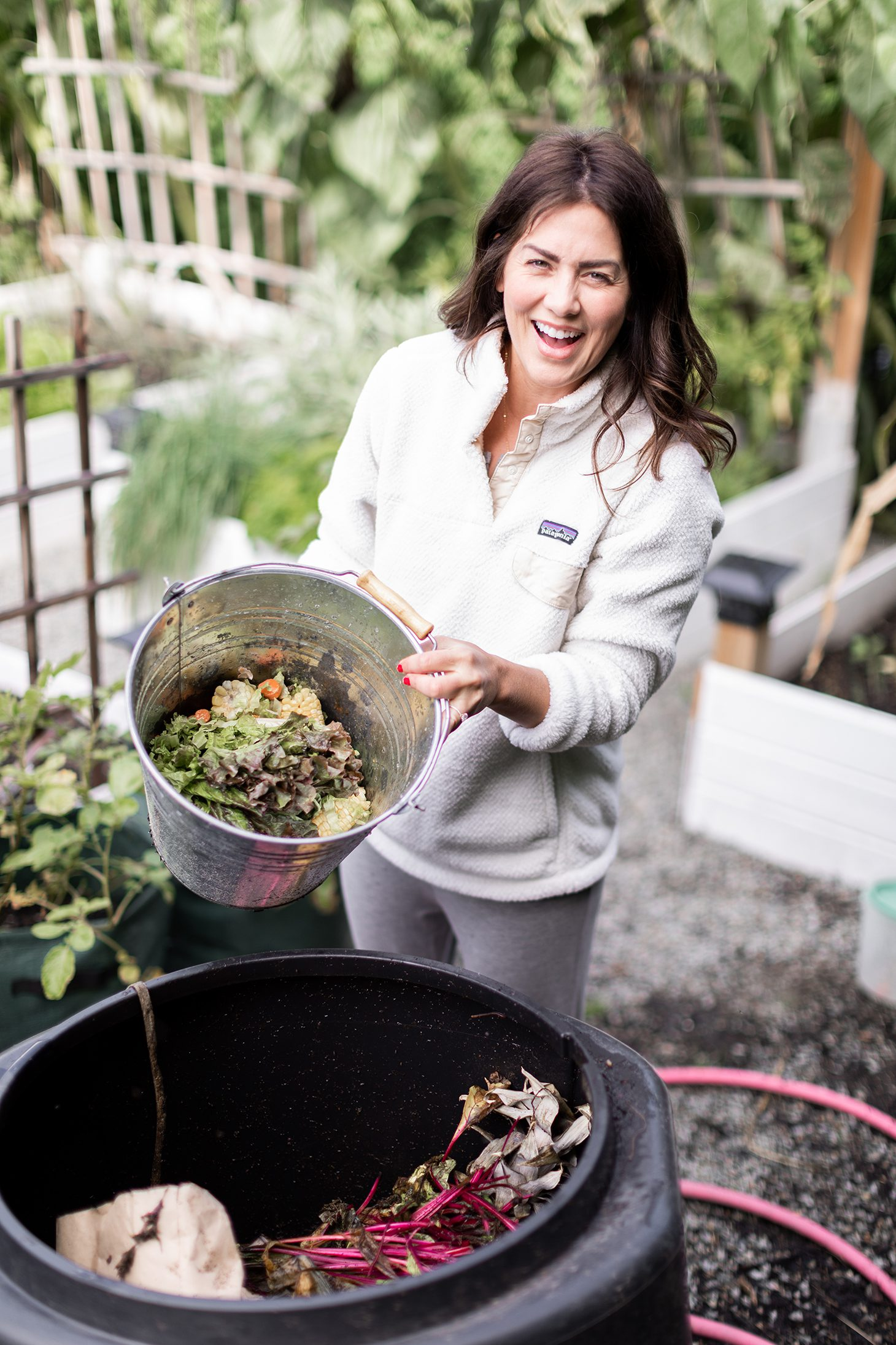 Jillian Harris Composting
