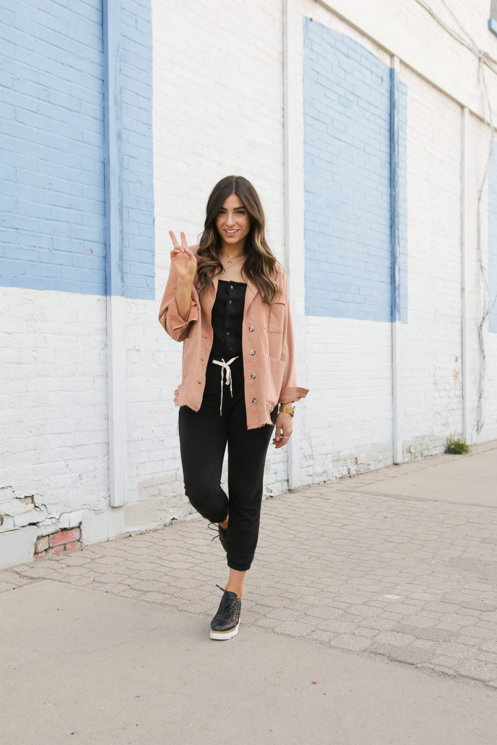 Spring Jacket and Jumpsuit Inspo