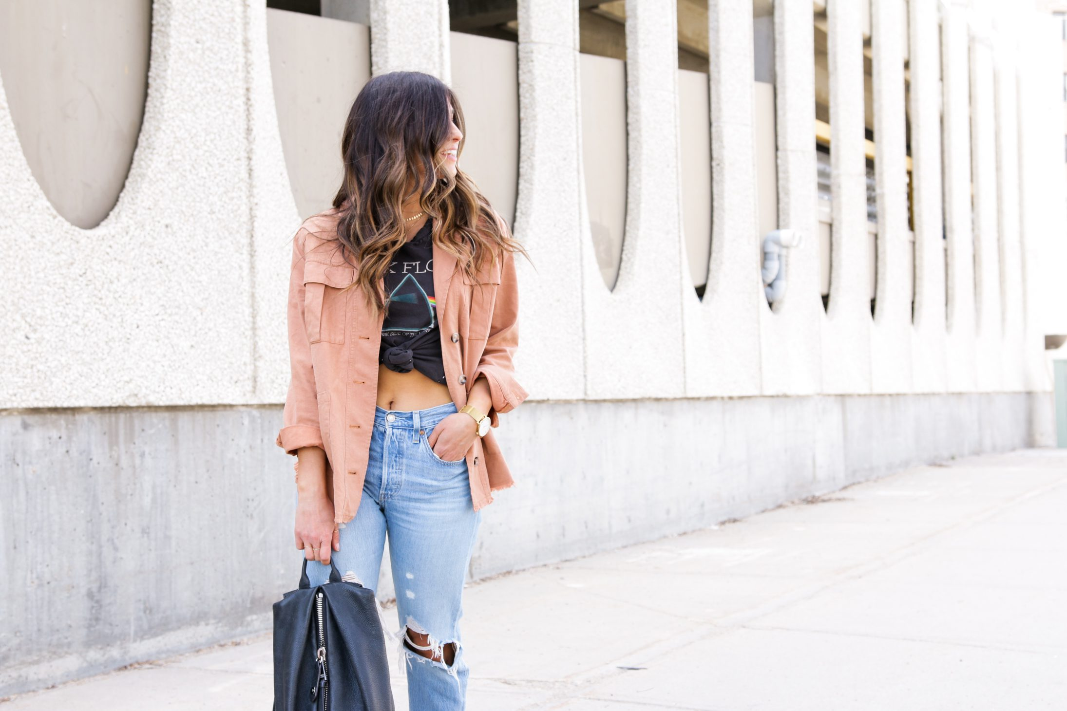 Styling a Spring Jacket 5 Ways