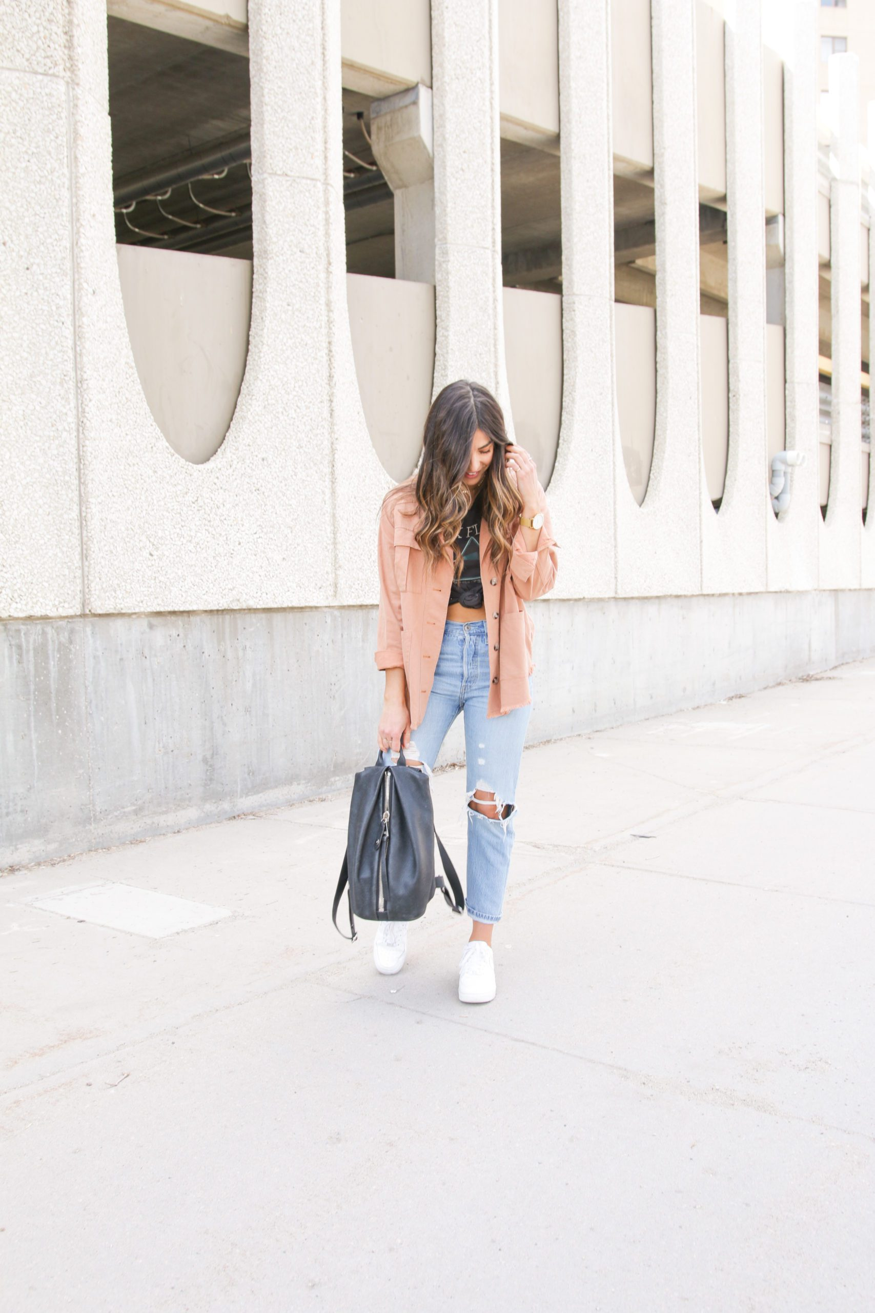 Spring Jacket and Jeans