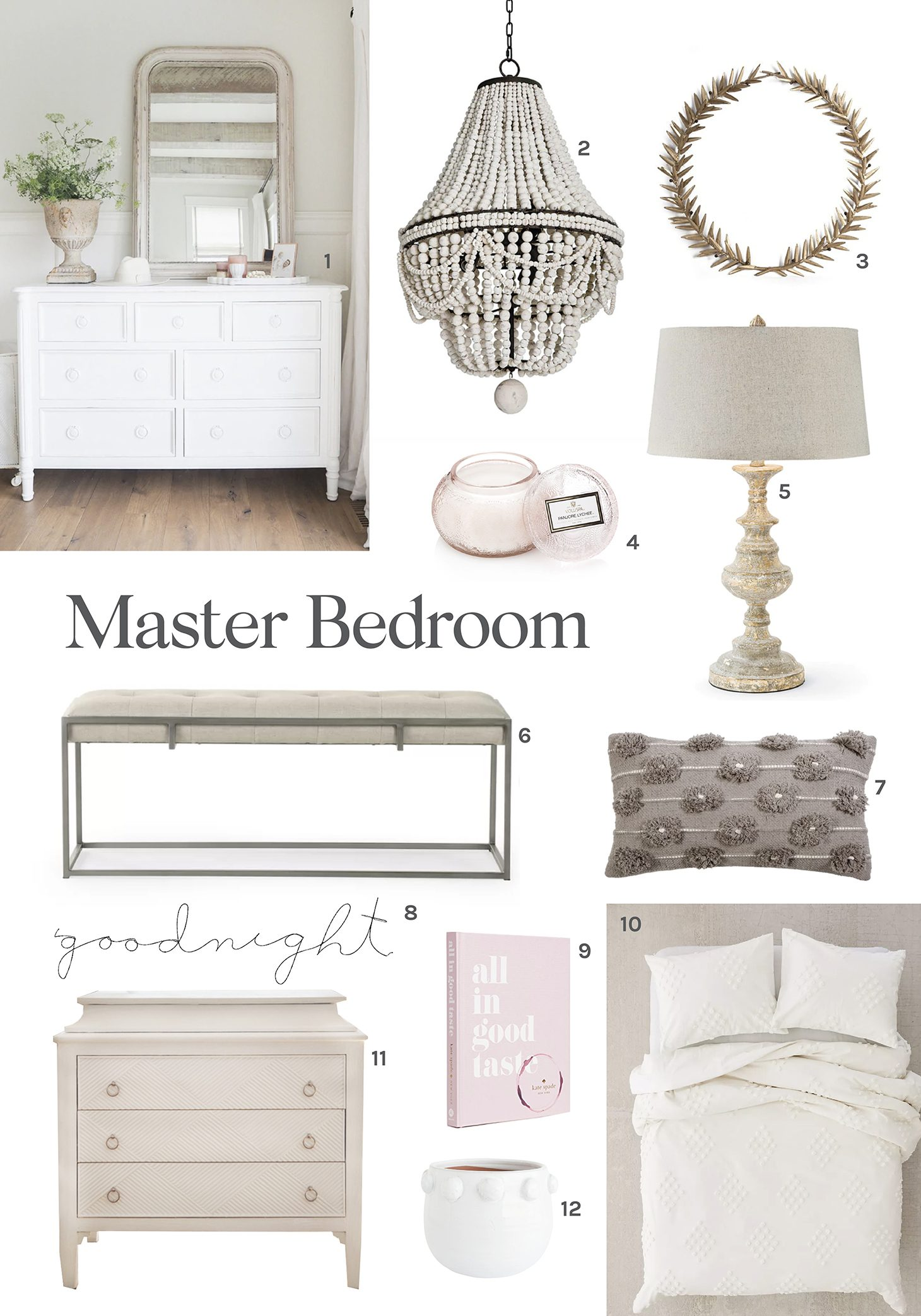 Jillian Harris Master Bedroom Round-Up
