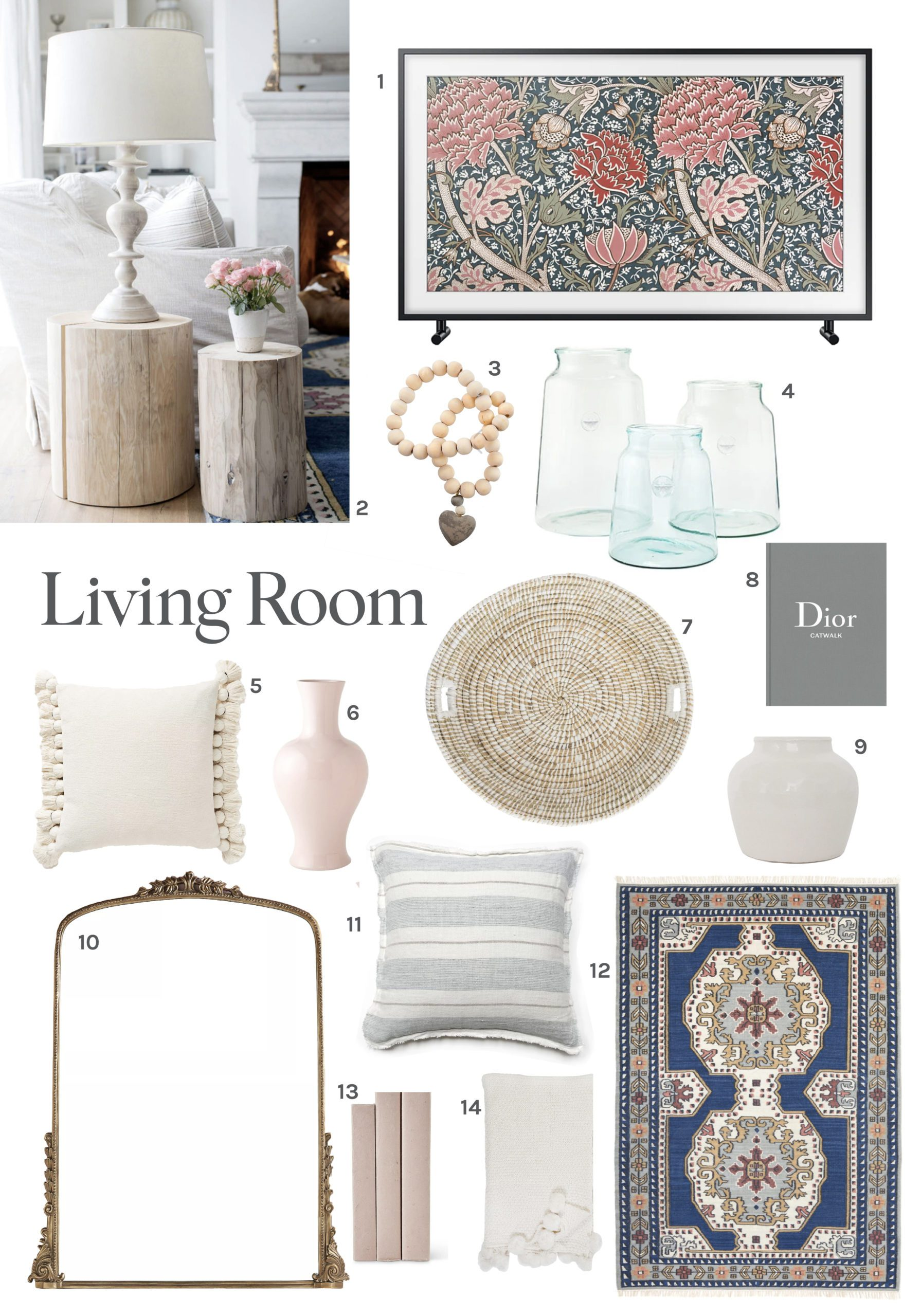 Jillian Harris Living Room Round-Up