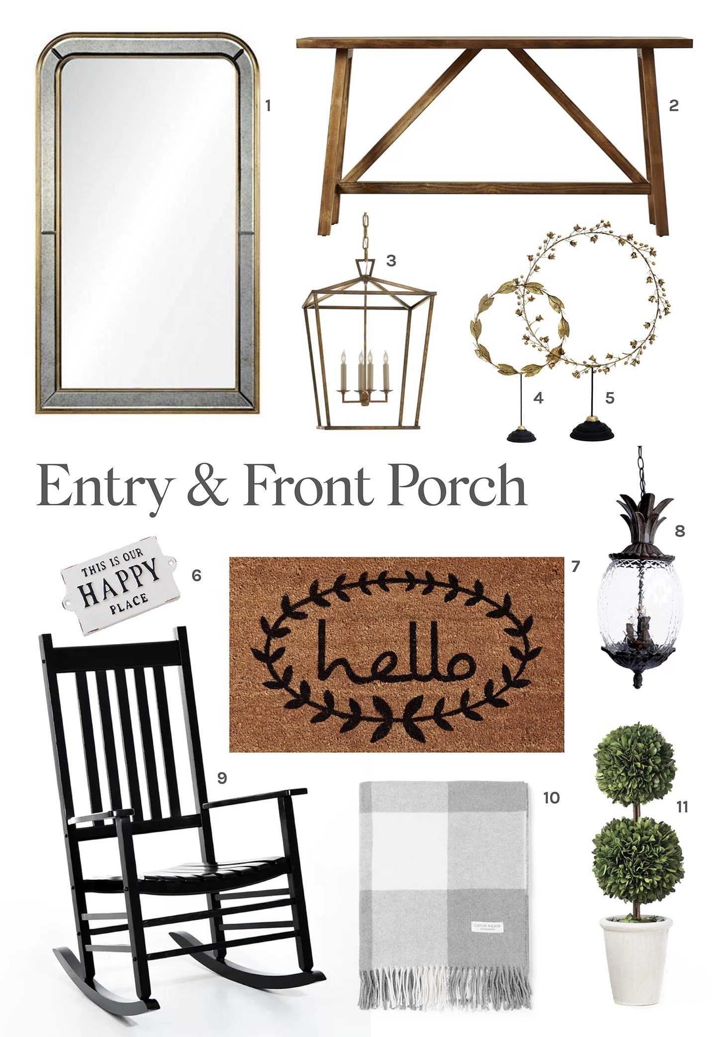 Jillian Harris Entryway Round-Up