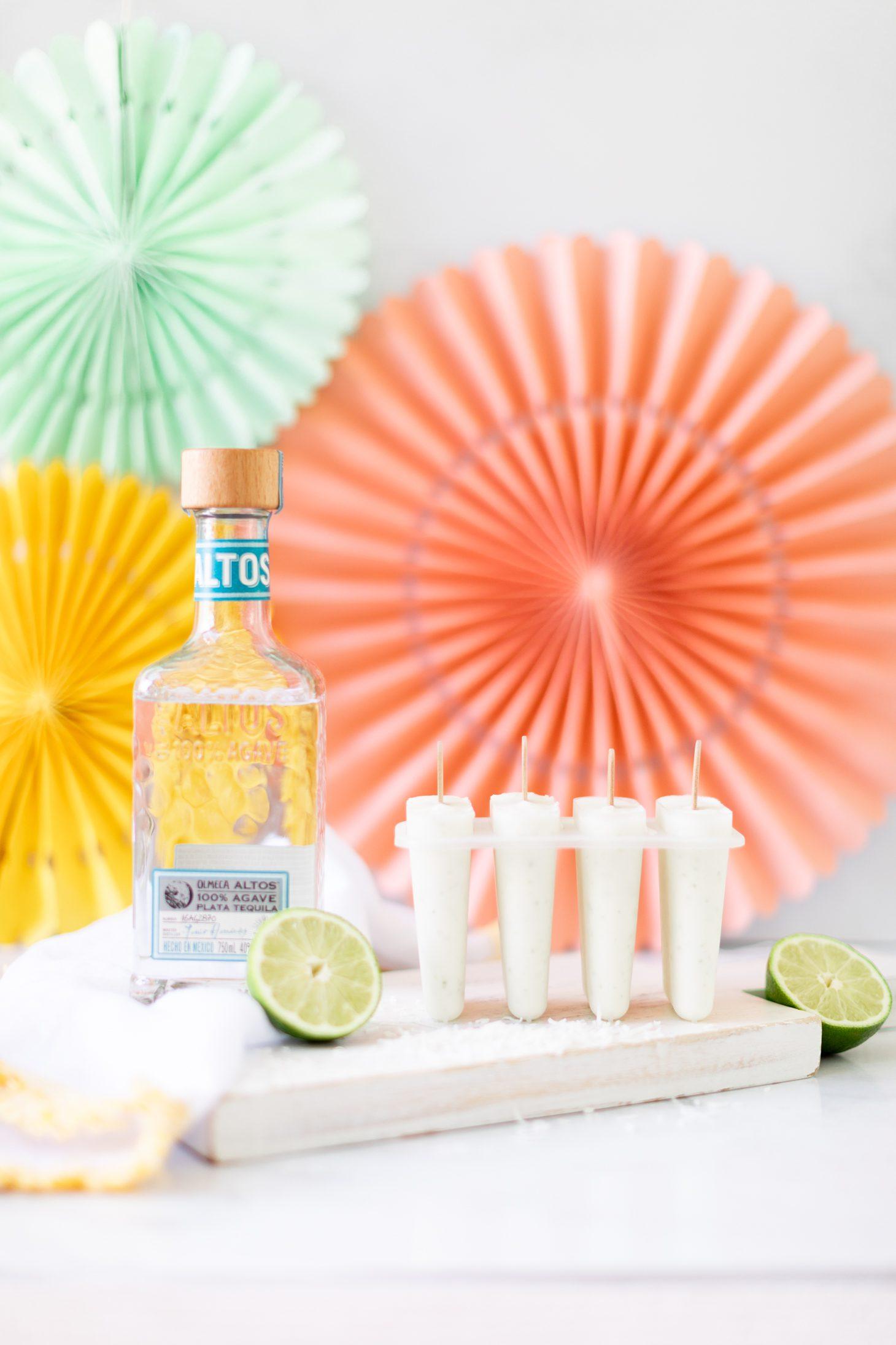 Tequila Margarita Popsicles