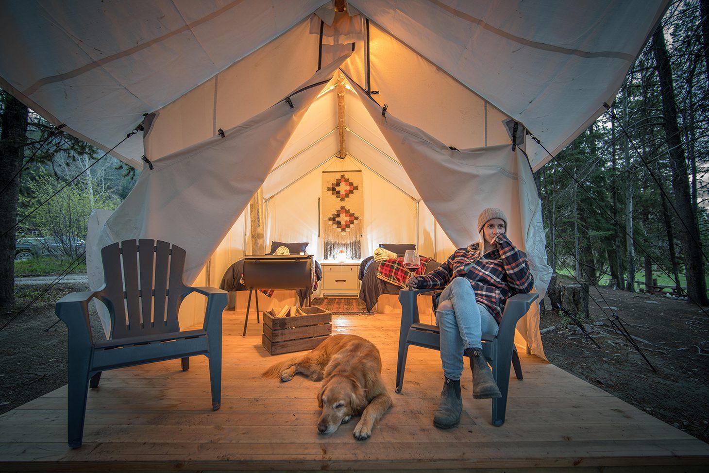 Chute Lake Yurt Rental