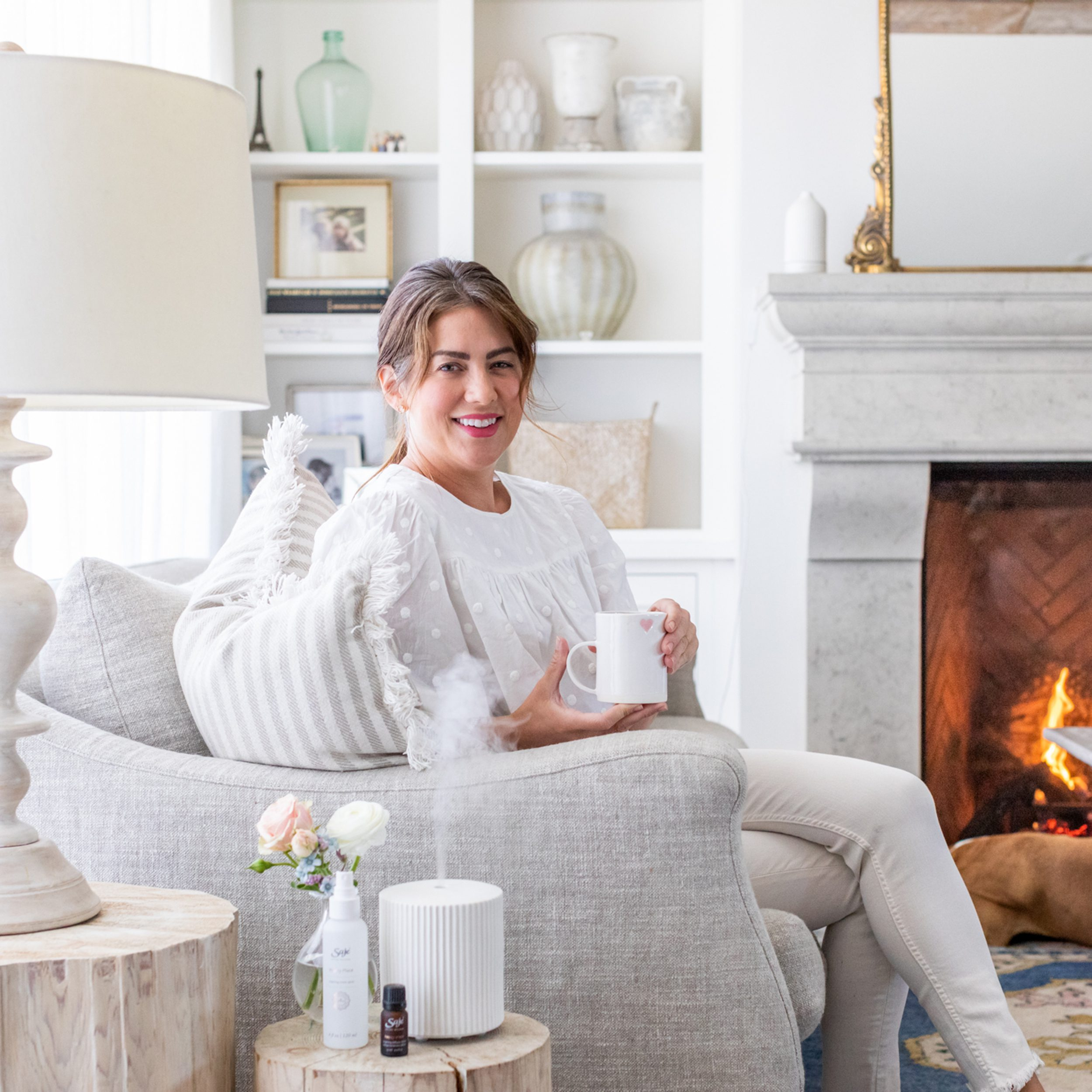 Saje Wellness and Jillian Harris Diffuser Launch