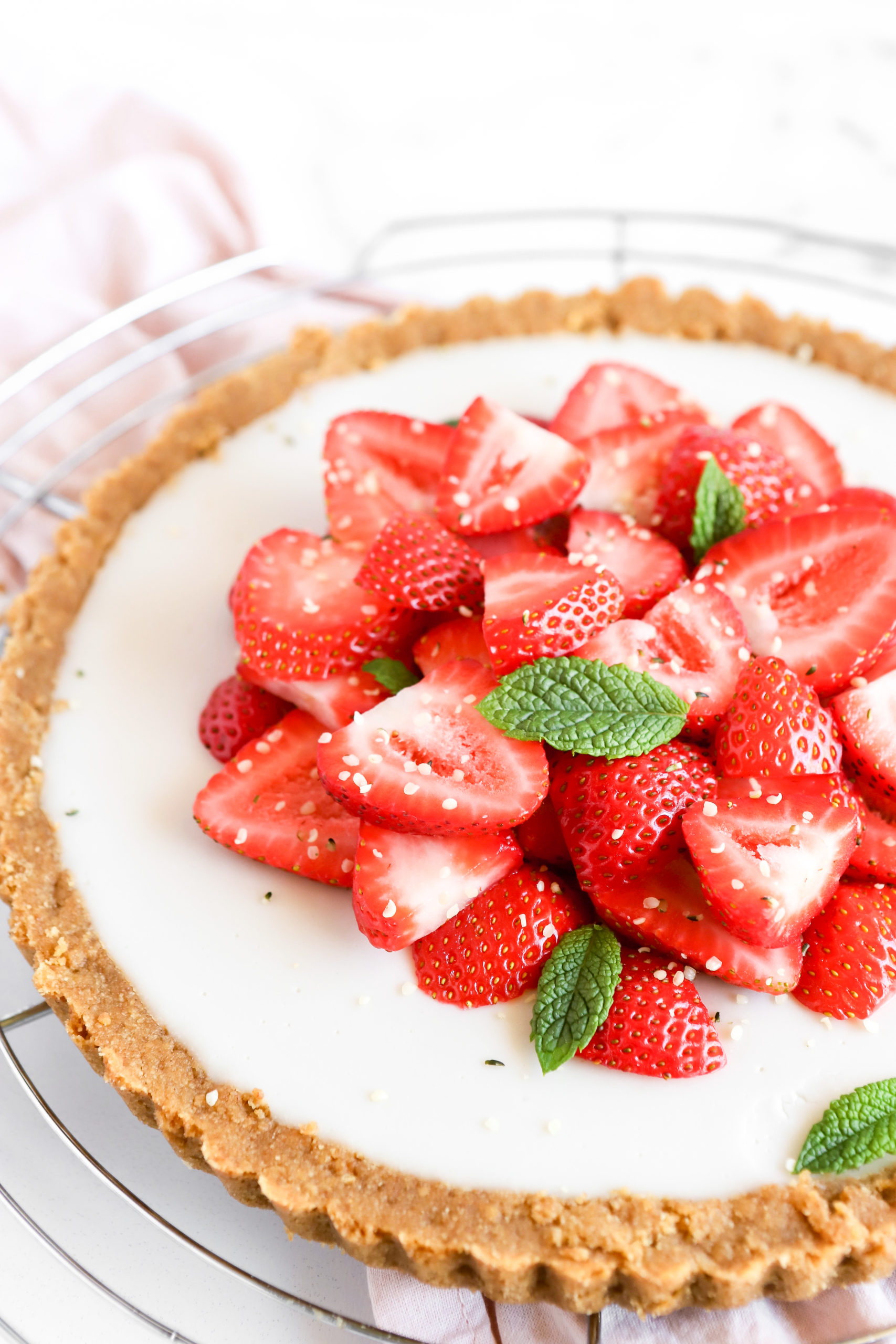 Fresh Strawberry Dessert