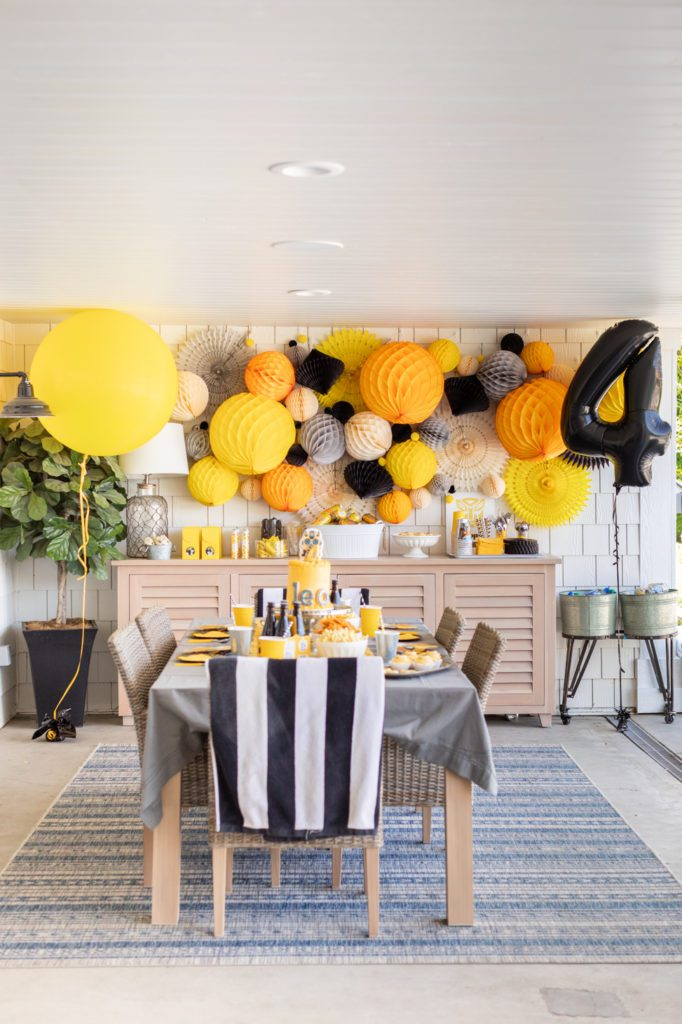 How to Decorate for a Transformers Party