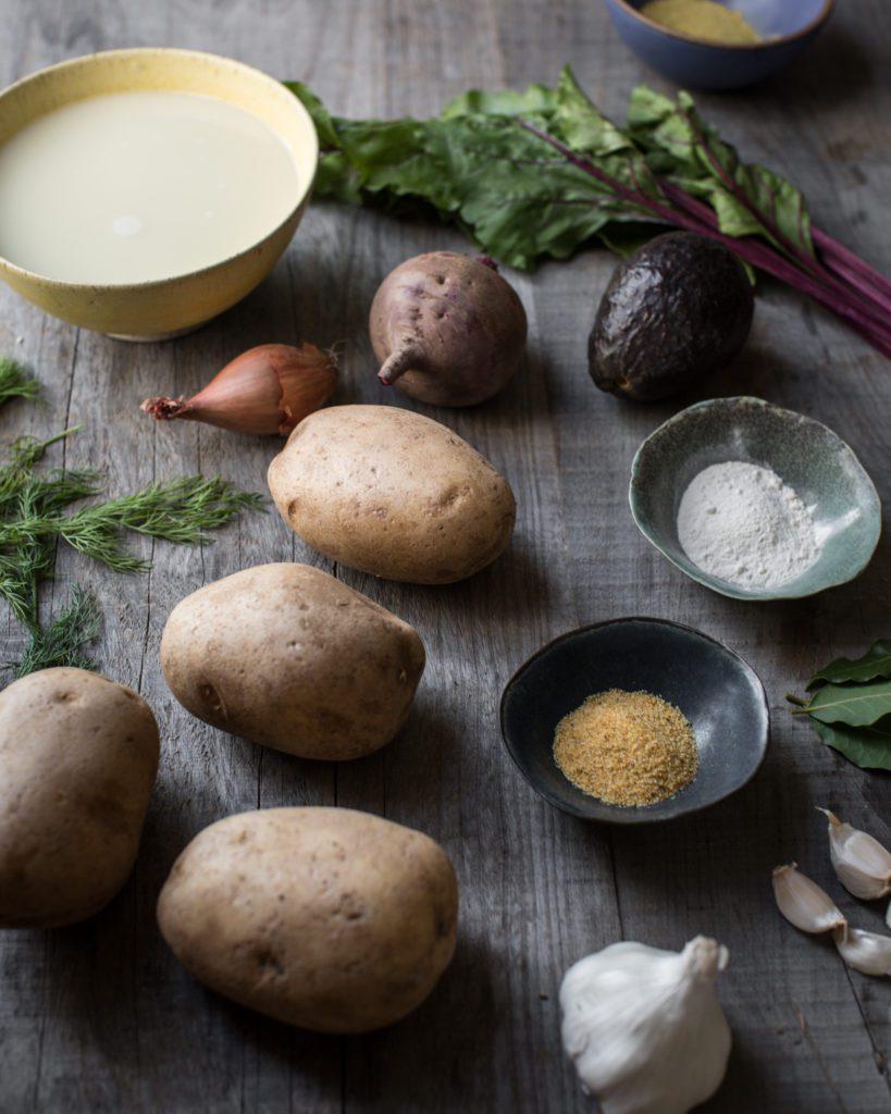 Easy Pink Potato Soup Recipe