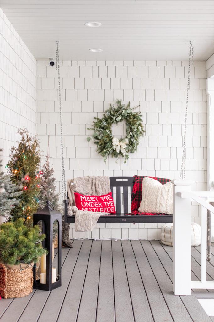 fall porch set-up
