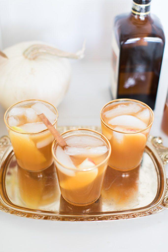 Apple Inspired Bourbon Cocktail Recipe