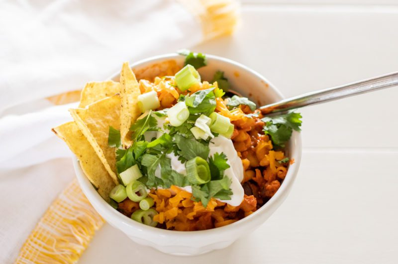 Fraiche at Home Recipe: One Pot Taco Mac & Cheese