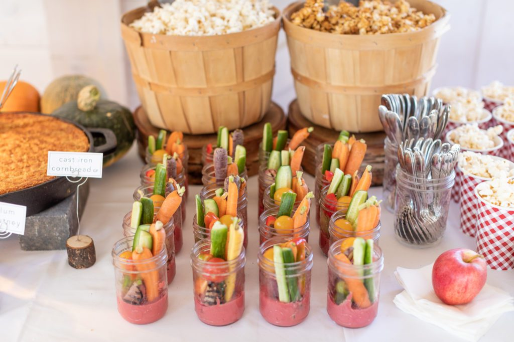 Start Fresh Food catering options