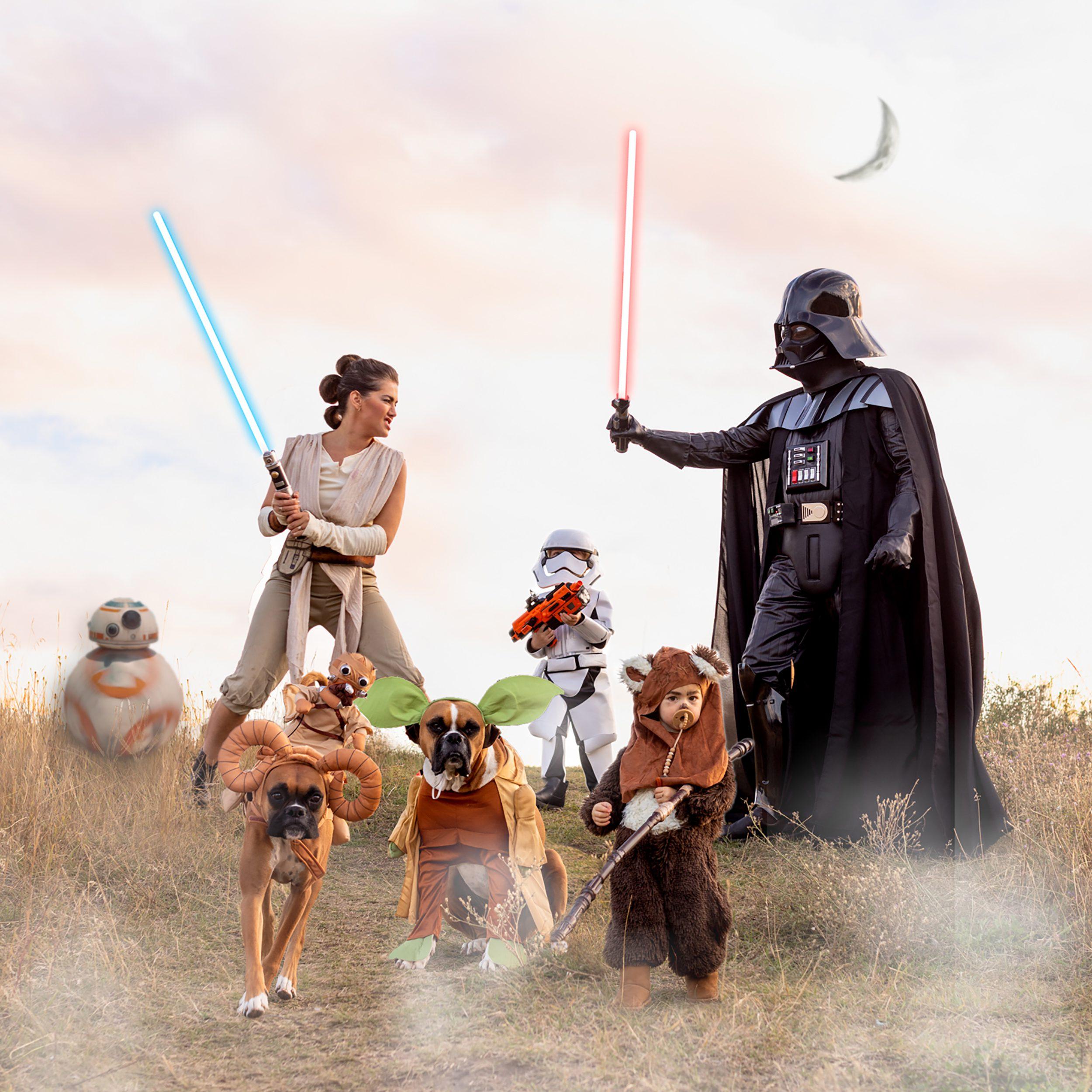 Star Wars Family Halloween Costume Idea