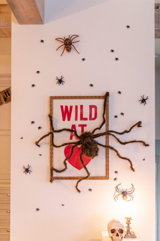 Giant fake spider