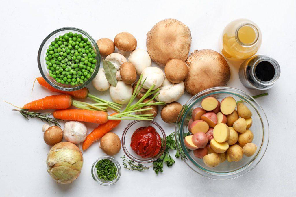 Easy mushroom stew recipe