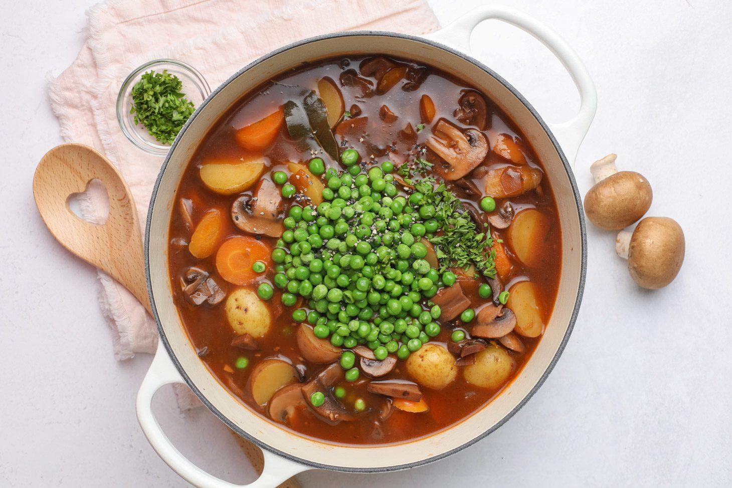 vegetarian mushroom stew