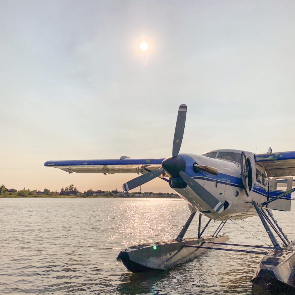 Float Plane Charter ti Nimmo Bay