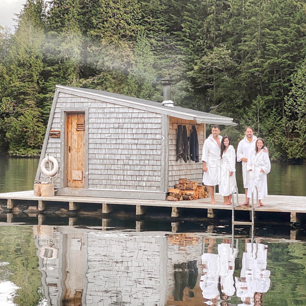 Floating Sauna Couples Retreat