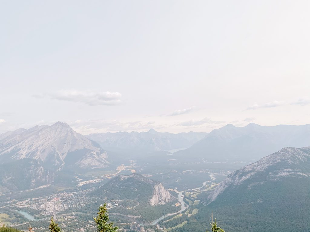View from the Banff gondola ride