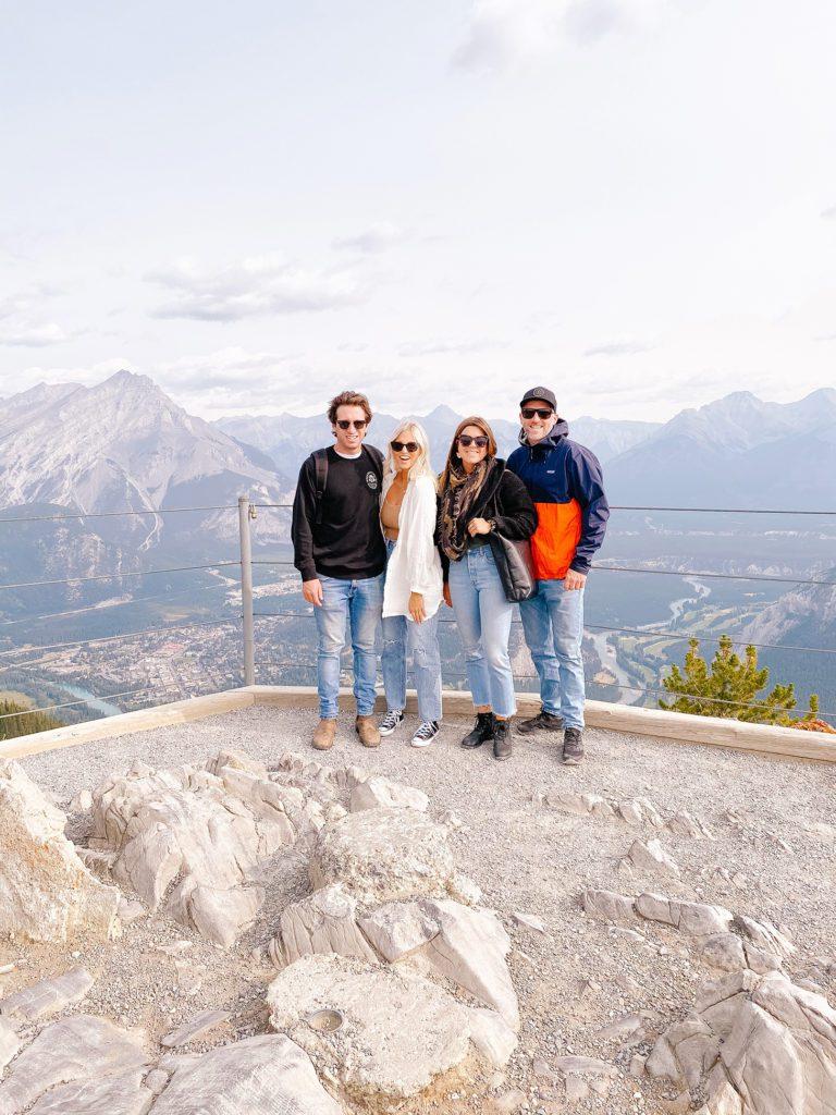 Banff Gondola Ride View