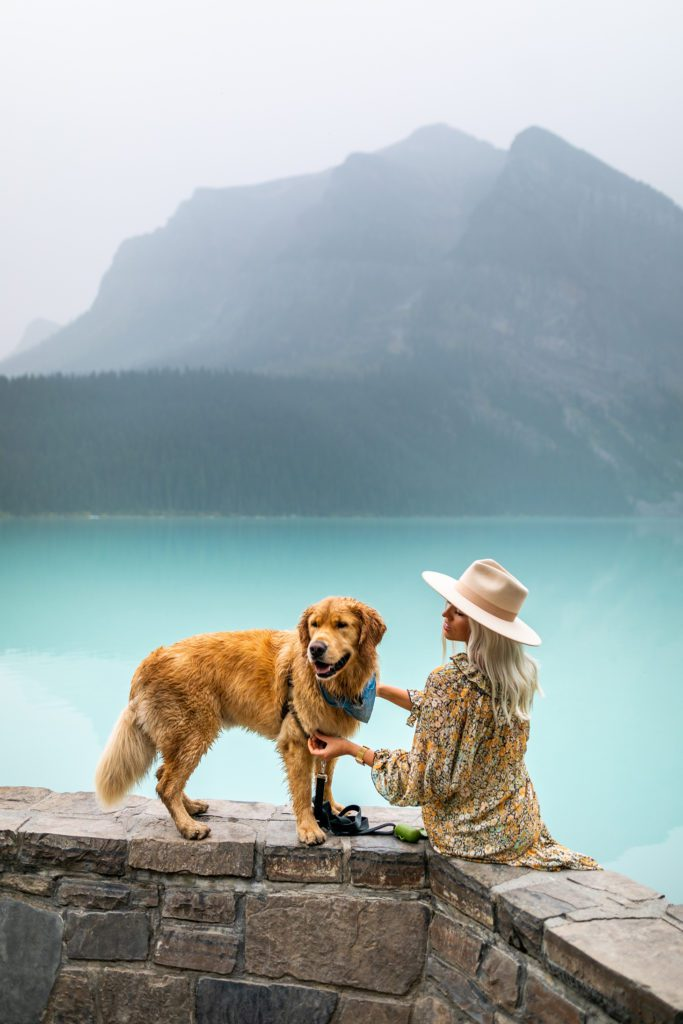 Shay at Fairmont Chateau Lake Louise Alberta