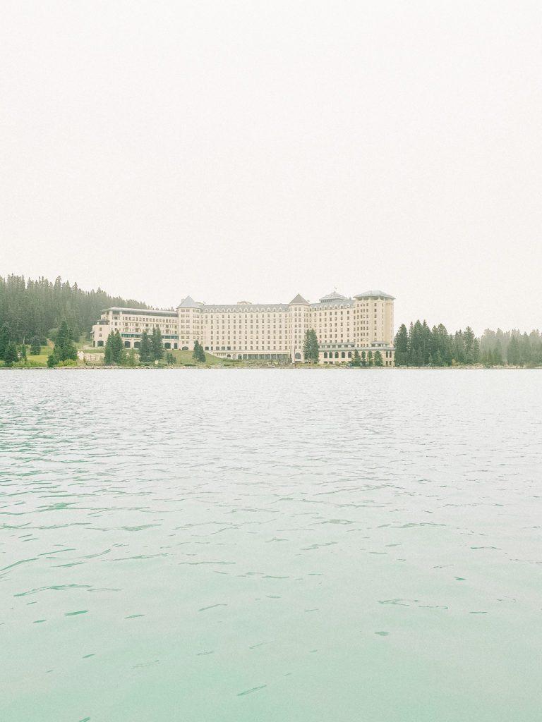 The Fairmont Chateau Lake Louise Alberta