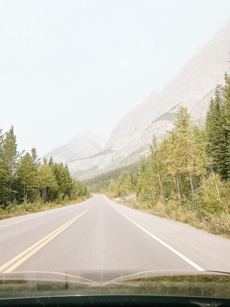Road trip through Alberta