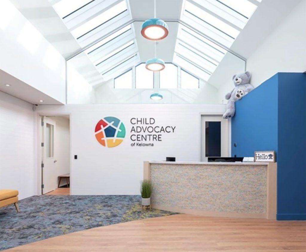 The Child Advocacy Center Entrance Area