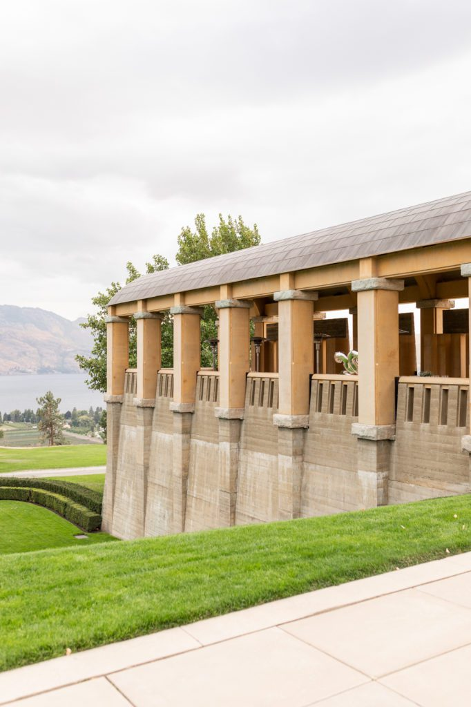 Architecture at Mission Hill Winery in Kelowna