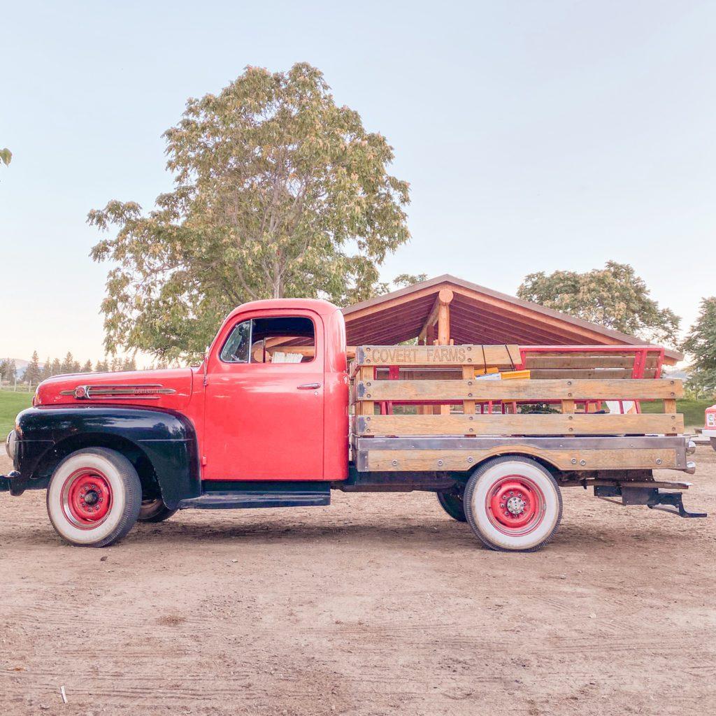 1953. Cherry-Res Mercury Truck Covert Farms Family Estate