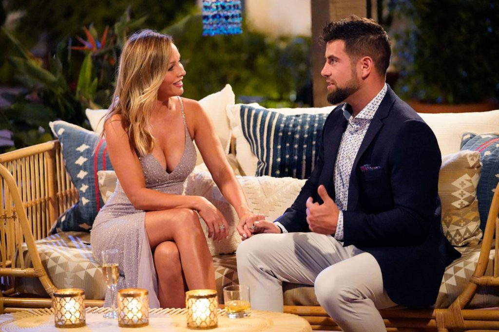 Clare Crawley Bachelorette on a date with Blake
