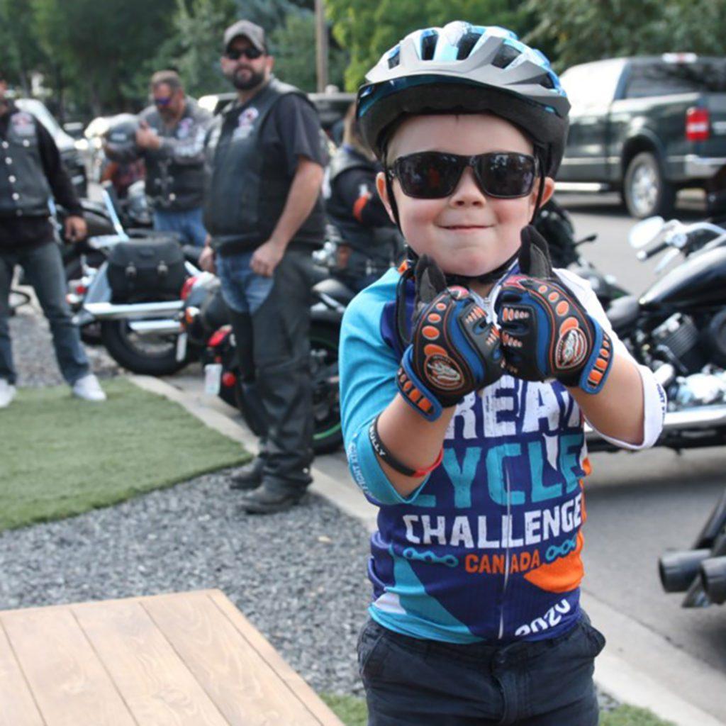 Kolton Davis raising money for childhood cancer research