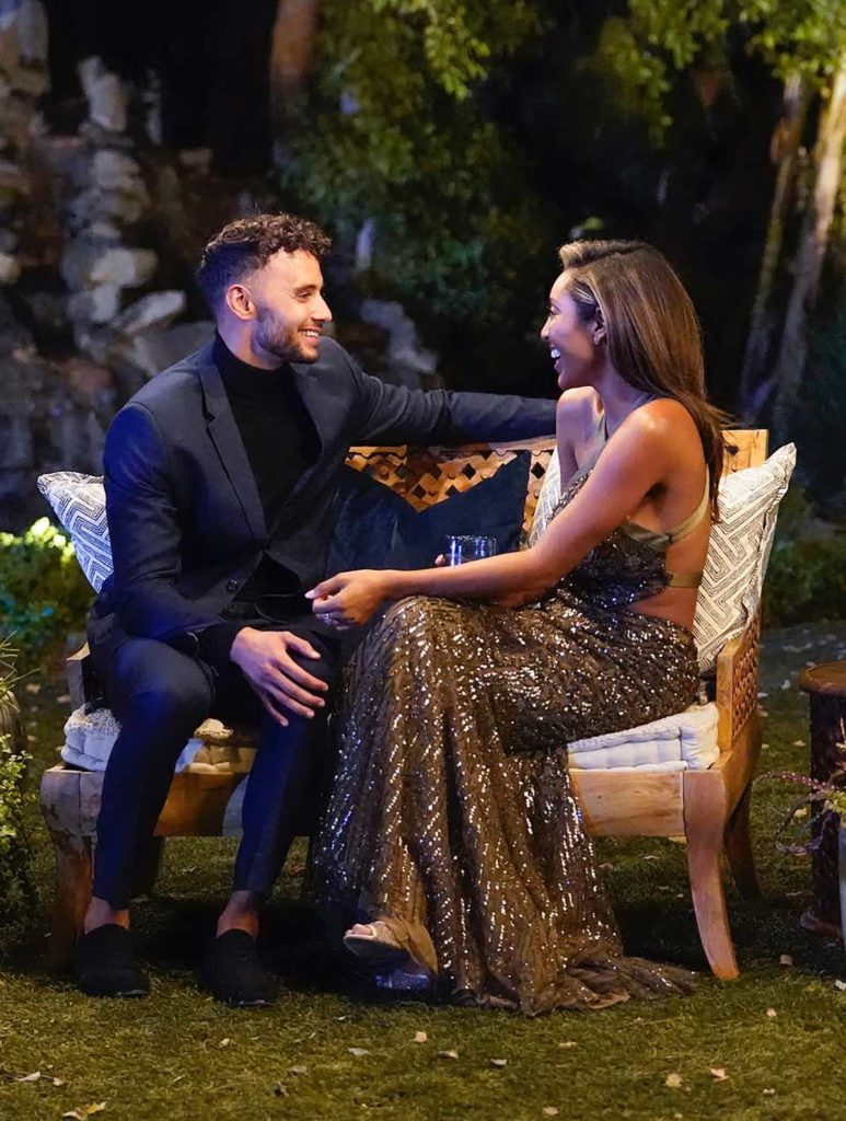 Tayshia Adam's and Brendan's One-On-One Date