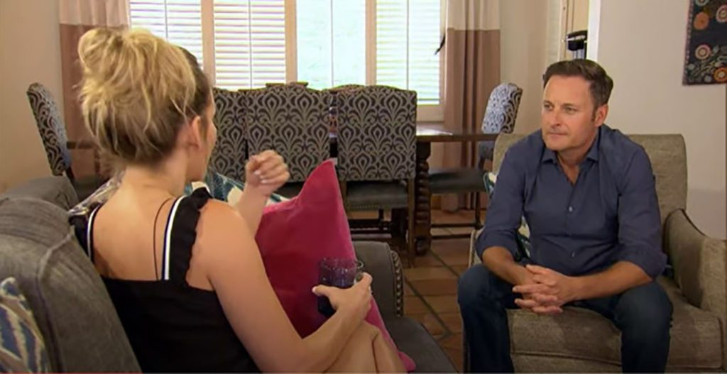 Clare Crawley and Chris Harrison's Chat