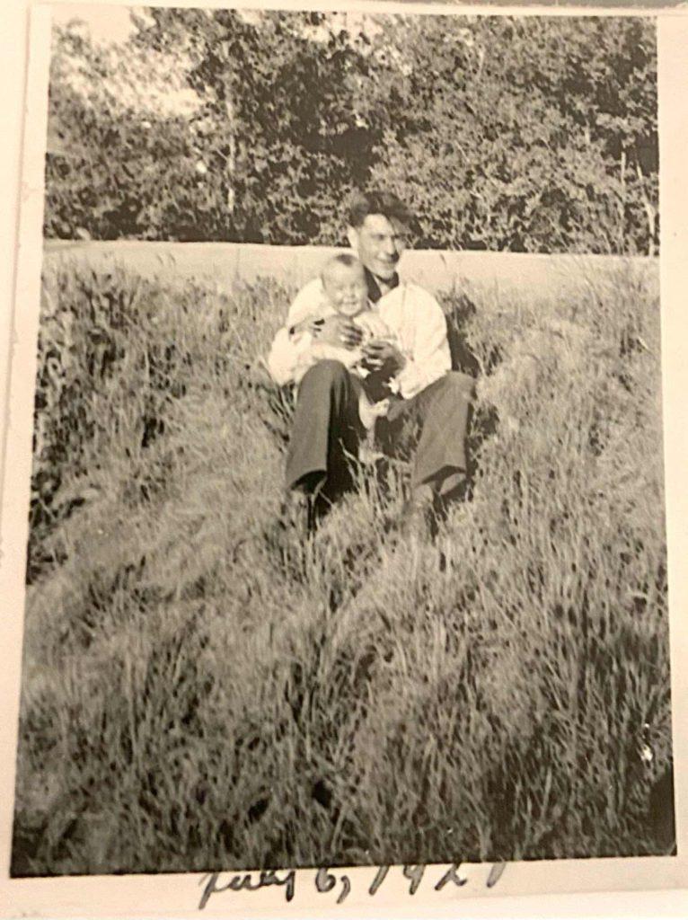 Jillian Harris' Great Grandpa Thompson
