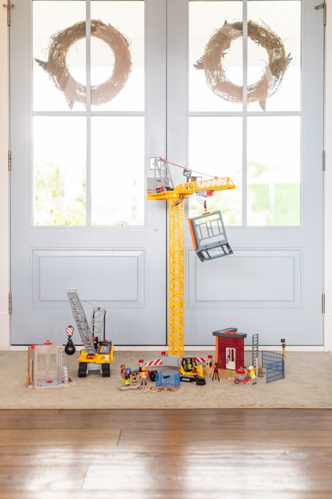Playmobil RC Crane and Building Section