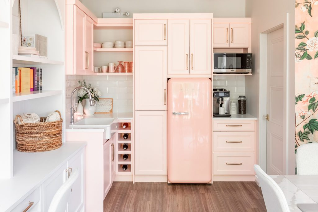 Blush Pink Kitchen Reveal