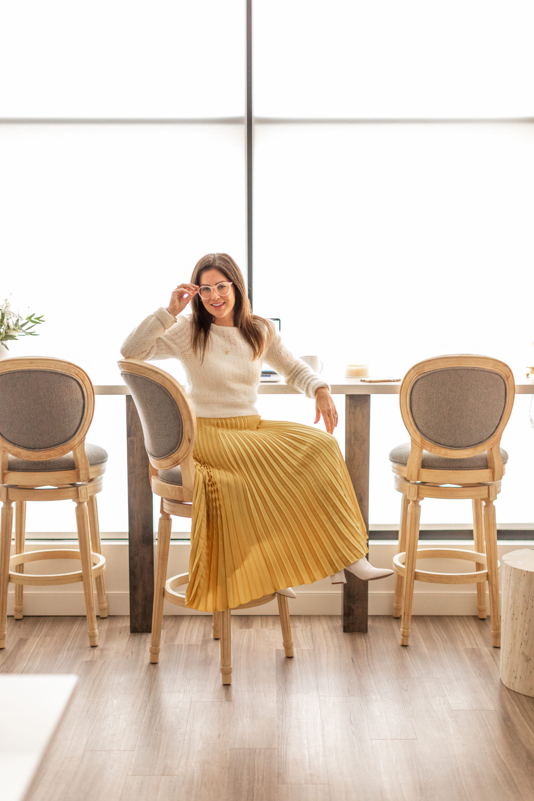 Jillian Harris Reveals New Office Space!