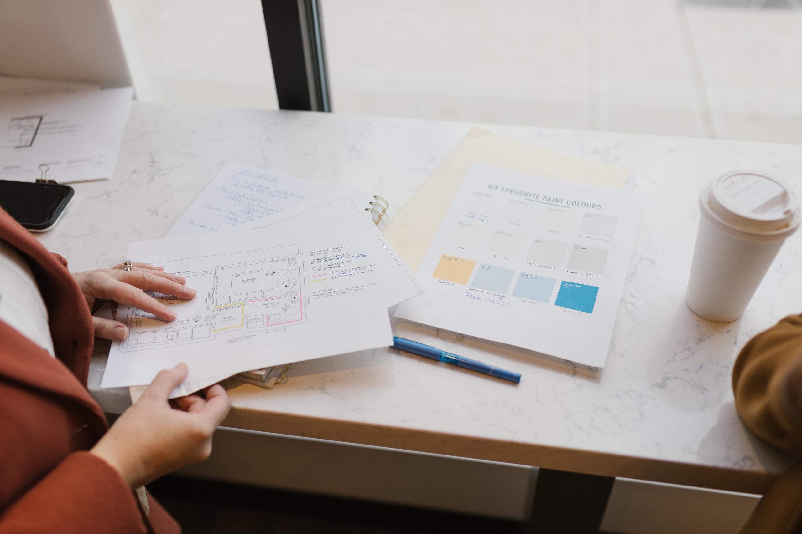Office Reveal Design Plans